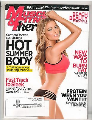 MUSCLE & FITNESS HERS female muscle exercise magazine/CARMEN ELECTRA 6-14