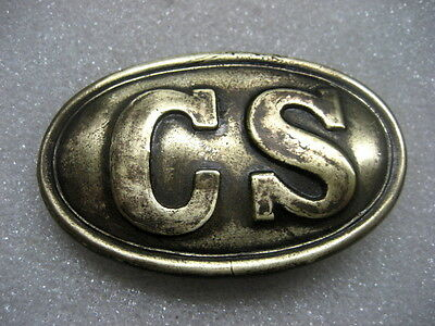 Belt Buckle US Civil War Enlistedman CS