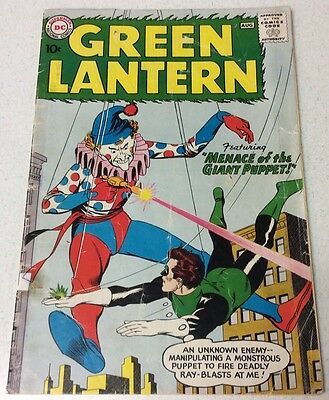 Green Lantern #1 Super Key! Origin Issue/ 1st Guardians Of The Universe! DC 1960