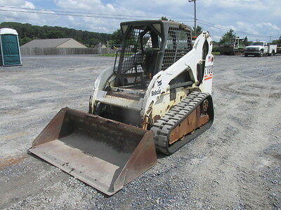 2004 Bobcat T190 Tracked Skid Steer Loader!