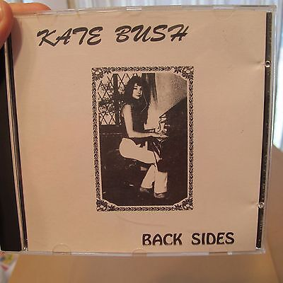 Kate Bush - Rare Cd 1991 Back Sides  Nm- Condition