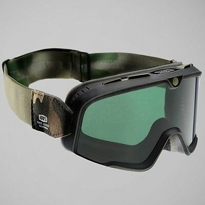 100 Percent Barstow Goggles (Scrambler/Cafe Racer Style)