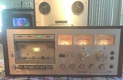 `Vintage Pioneer CT-F700 Stereo Cassette Tape Deck Excellent Condition