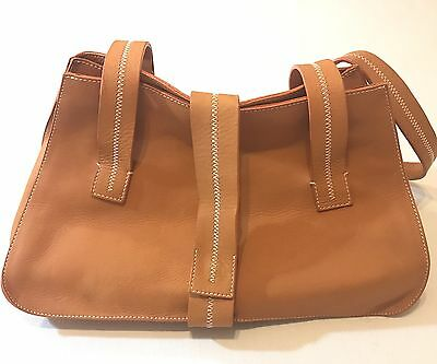 CATS Genuine Leather Purse Made In Spain Hobo Shoulder Handbag