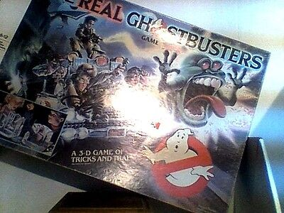 The Real Ghostbusters 3D Board Game Mb 1986