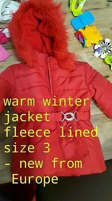 New girls bulk clothing. Winter coat. Please read description. Some  are worn.