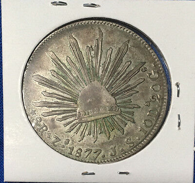 1877 Mexican 8 Reales