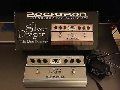 Silver Dragon Rocktron pedale distortion a tube