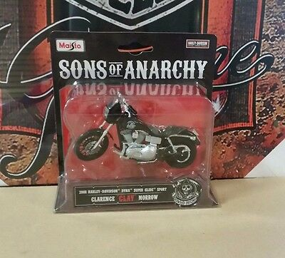 Sons Of Anarchy Clarence Clay Morrow 2008 Harley Davidson Dyna Super Glide Sport
