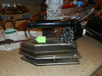 vtg taylor 12 pound electric iron with hot plate