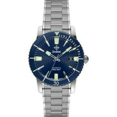 Zodiac ZO9258 SUPER SEA WOLF 53 Automatic Sapphire Crystal Watch