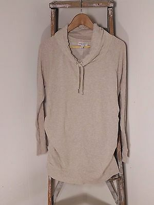 Liz Lange Maternity Beige Knit Sweater Top  Women's Size XL  A12