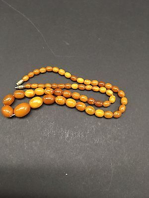 Good Antiques Amber Baltic Necklace 16 Grams!