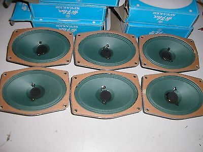 6 x Hi flux msp speakers NOS