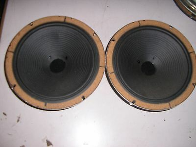 2 x Rola speakers 8 inch 8 ohm