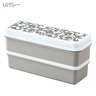 New Mickey Mouse silicon two-stage lunch box gray SSLW6 from Japan