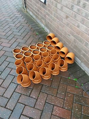 Underground Drainage Pipe Fittings Bends Junction Connector new plastic
