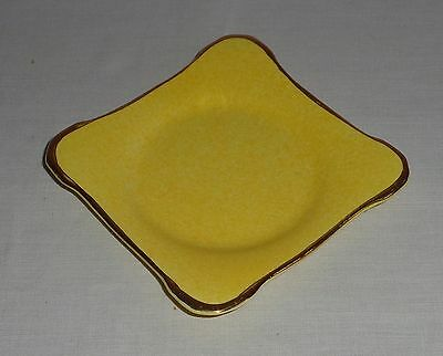 Vintage/antique Royal Winton Grimwades Small Dish/plate England - Yellow/gold