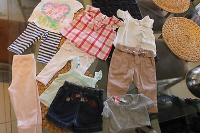 Baby Girls Clothes Osh Kosh Pumpkin Patch Target Dymples Size0 6-12Mth New&used