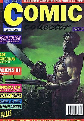 JOHN BOLTON / ART SPIEGELMAN / ALIENS II	Comic Collector	no.	4	Jun	2002