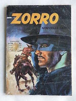 ZORRO NOUVELLE SERIE n° 23 ( ARSCAN )