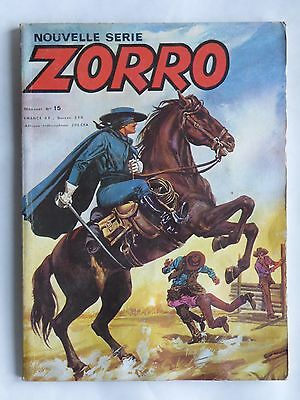 ZORRO NOUVELLE SERIE n° 15 ( ARSCAN )