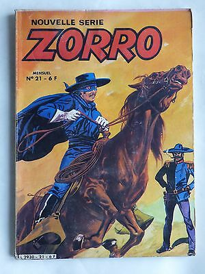 ZORRO NOUVELLE SERIE n° 21 ( ARSCAN )