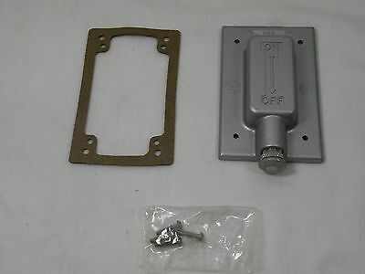 HUBBELL KILLARK FCLT Weatherproof Cover,For Toggle Switch