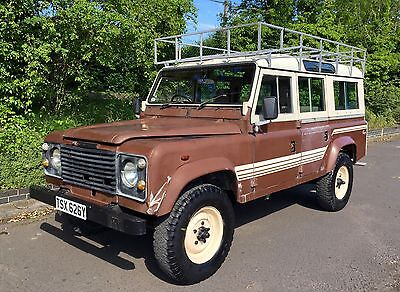 Land Rover 110 Defender County Station Wagon petrol March 1983