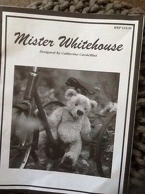 Mister Whitehouse Bear Pattern By Catherine Cardellini