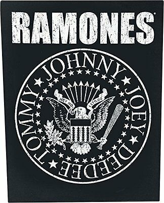 Ramones XLG back patch classic seal