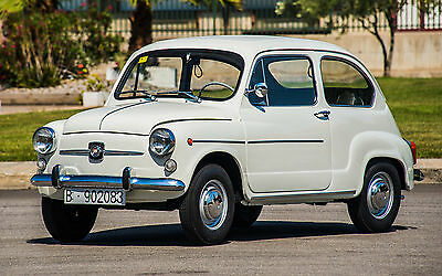 Fiat 500 Seat 600 1974 rust and rot free