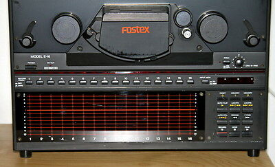 Fostex LED VU meters for Reel to Reel_Not made anymore! PN.8254602600  NOS