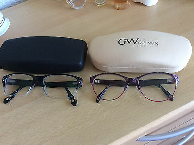 Red or dead and gok wan glasses