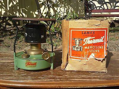 VINTAGE LANE'S GENUINE THERMIL BLUE FLAME Kerosene Stove
