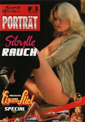 DELUXE MAGAZINE SIBYLLE RAUCH (80 PAGES ABOUT HER!) Biography, filmography, phot