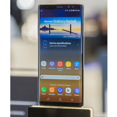 Samsung Galaxy S8 G950FD Duos SIM 4G LTE 64GB Gray purple Stock in EU meilleur
