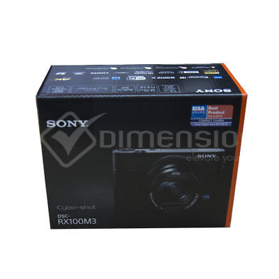 Sony Cyber-Shot DSC RX100 Mark III Digital Camera Stock in EU Authenti