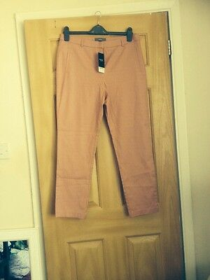 Brand New With Tags Next Pink Trousers Size 14R