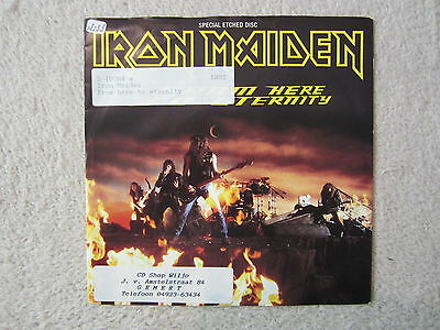 Single /  Iron Maiden ‎– From Here To Eternity / Special  Sided, Etched /  RAR