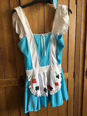 Leg Avenue Alice In Wonderland Costume Ladies Size 8 To 10