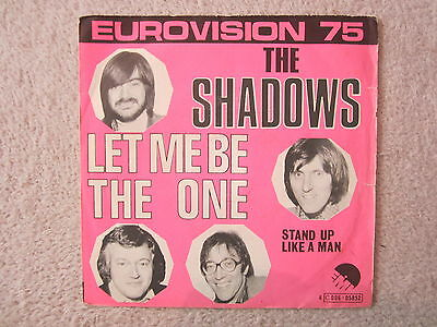 Single / The Shadows – Let Me Be The One / Eurovision 75 / RARITÄT / 1975 /