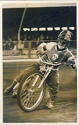 Speedway Photograph-Unknown Poole Rider   (SP462)