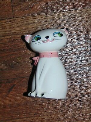 1959 Curious Kitty CAT Single Salt Shaker HOLT HOWARD Pottery