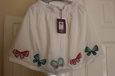 Johm Lewis Butterfly Applique Summer skirt Age 9 BNWT