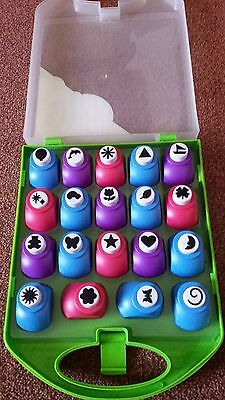 Paper Craft 19 Mini Punch Set in carry case