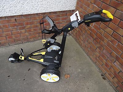 Powakaddy Touch Electric Trolley With 18 Hole Lithium Battery And Charger