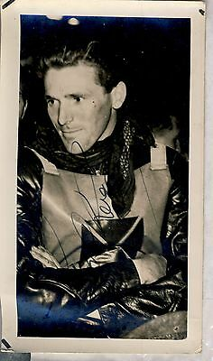 Speedway Photograph-Cyril Roger New Cross Autographed (SP597)