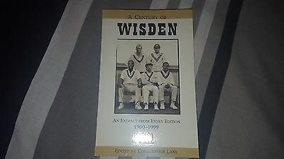 A Century Of Wisden An Extract Edition From 1900-1999 Book Cricket
