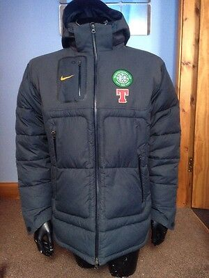 Rare!!!! Celtic Player Issue Managers Down Jacket + Free £20 Lisbon Lion T-shirt